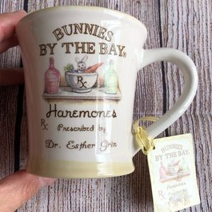 Bunnies by the Bay mug cup new